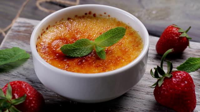 Italian dessert. video