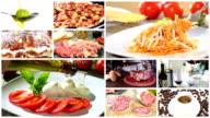 italian food montage video