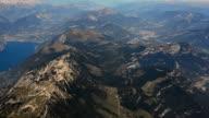Italy Lago di Garda aerial video