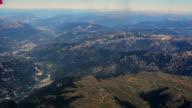 Italy Mountains around Lago di Garda aerial video