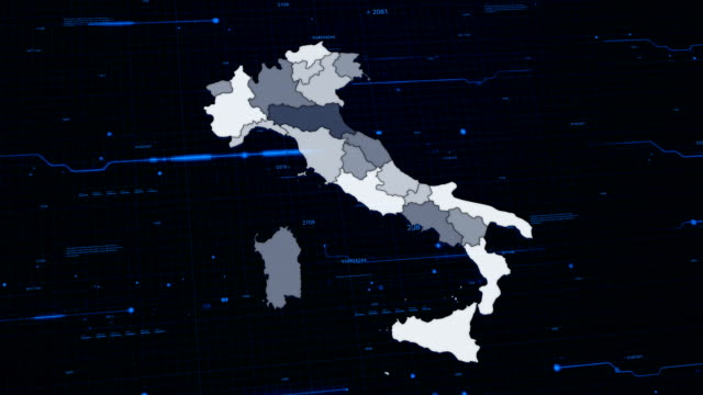 Italy network map video