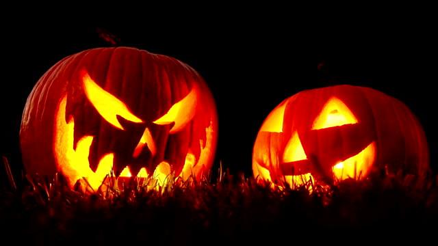 Jack Lanterns Flickering Night video