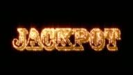 Jackpot Glittering + Alpha Matte (Loop) video