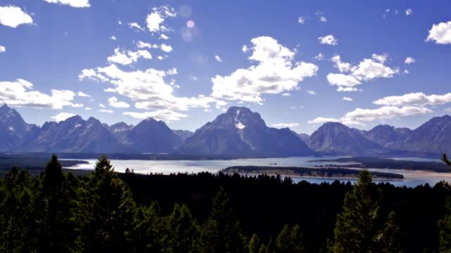 Jackson Hole, Wyoming Time Lapse video