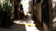 Jaffa. The streets of the old town video