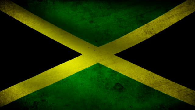 Jamaica flag. video