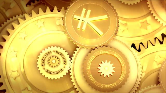 Japan yen working. Concept video