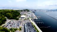 Japanese Docks in Hiroshoma video