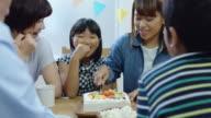Japanese Family Birthday Celebration video