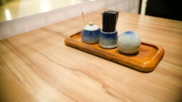 Japanese Food Restaurant. video