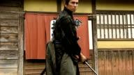 Japanese Ronin Warrior draws his blade video