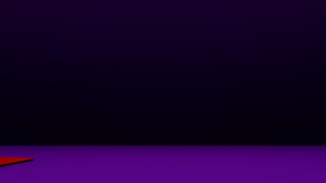 Japanese Round Rice Cake On Purple Background video