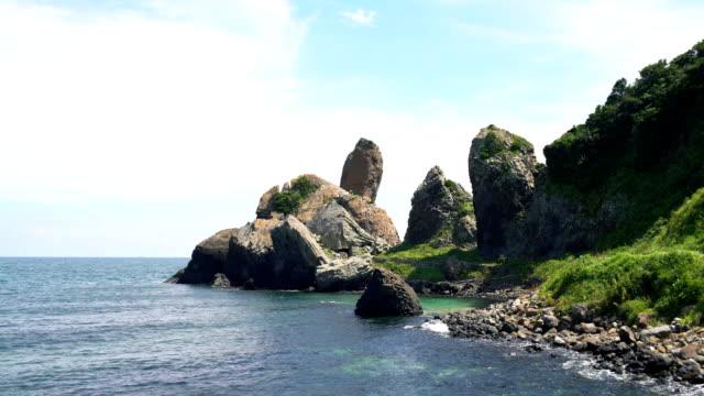 Japanese tourist spot, Tachigami rock video