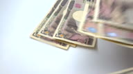 Japanese yen bank noted video