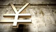 Japanese yen falling video