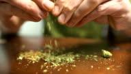 Jars of marijuana and more around. video