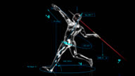 3D Javelin Thrower with technical data video