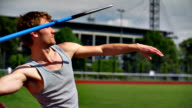 SLOW MOTION: Javelin video