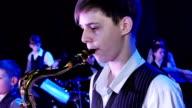 Jazz saxophone alto video