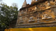 Jed Yod Buddhist Temple in Chiang Mai Thailand video