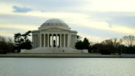 Jefferson Memorial in Winter video