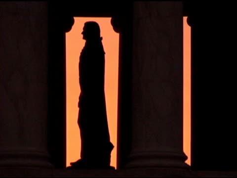 Jefferson Memorial, Washington, DC sunset video
