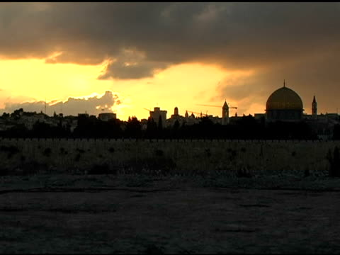 Jerusalem Sunset Timelapse video