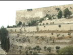 Jerusalem Wall and Valley video