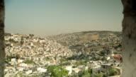 Jerusalem wall scenery video