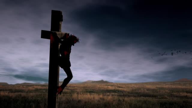Jesus Crucifixion Video Loop video
