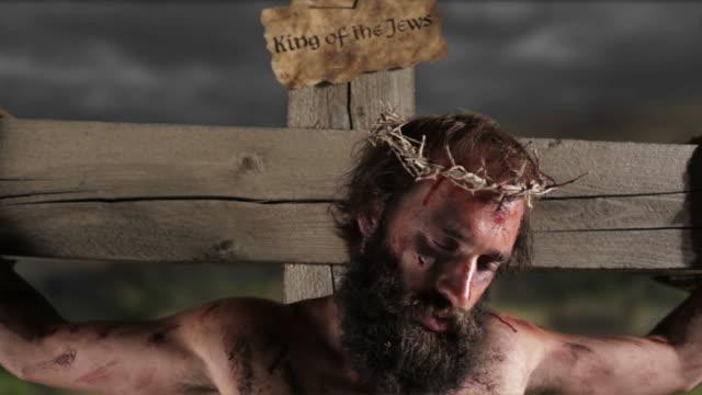 Jesus on the cross video