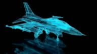Jet Fighter Aircraft  Mesh video