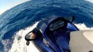 Jet ski side view video