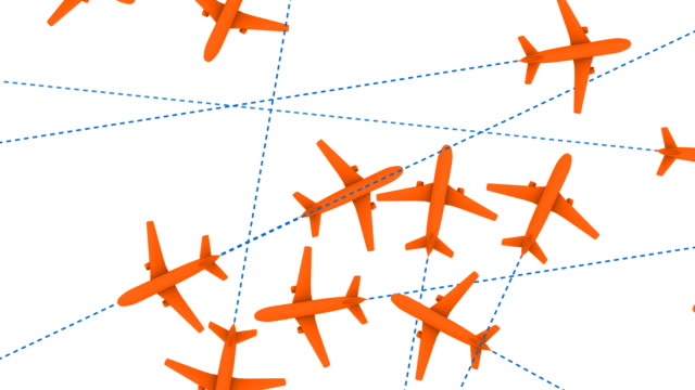 Jet Travel (Looping Animation) video