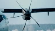 Jet turbine engine video