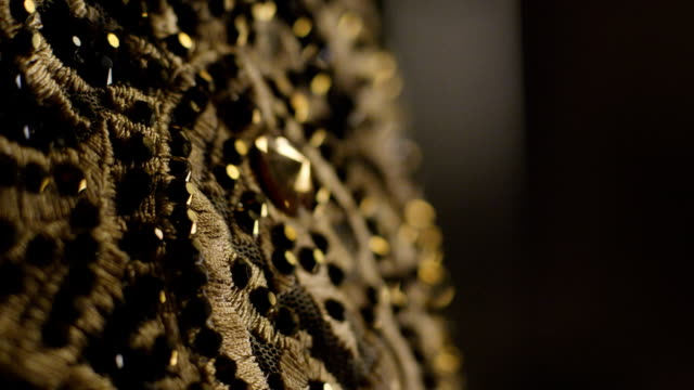 Jewelry Decoration In Dark Background video