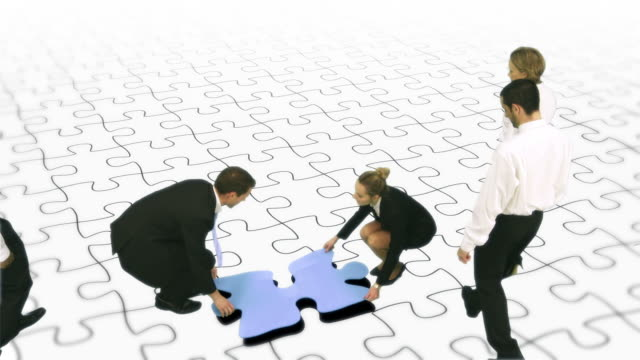 Jigsaw pieces video