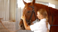 Jockey And Her Horse video
