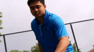 Joe's Tennis Serve - Low Angle video