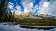 Joffre Lake Time Lapse Whistler BC Clouds video