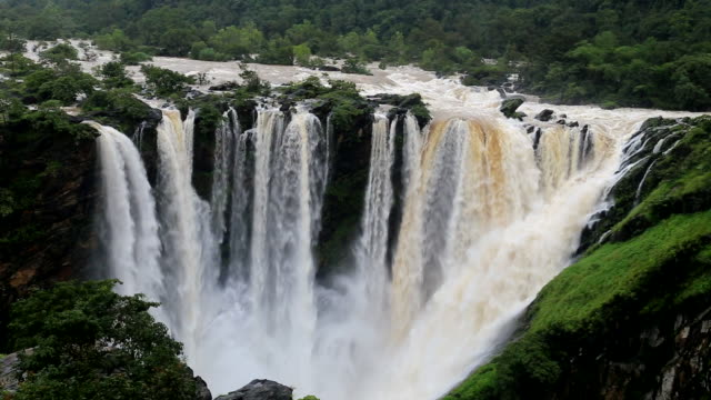 Jog Falls view from bombay guest house video