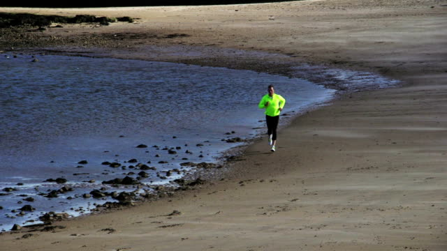 Jogging Along the Water's Edge video