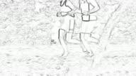 HD: Jogging Animation video