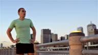 DOLLY SHOT: Jogging in Brisbane video