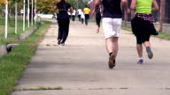 Jogging in the Park video