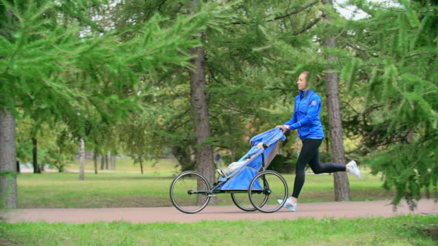 Jogging with Baby video