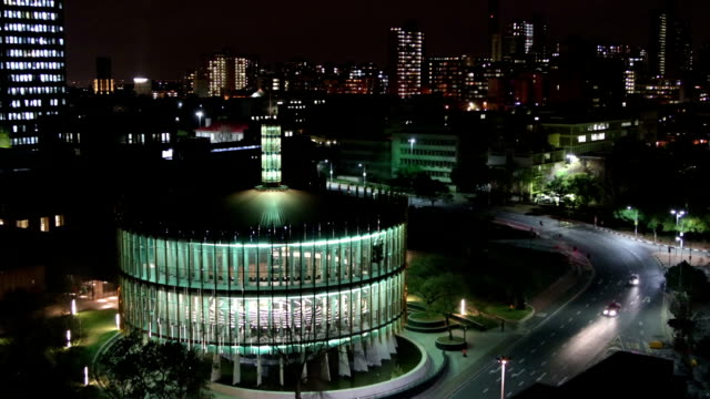 Johannesburg evening timeline of Council Chamber video