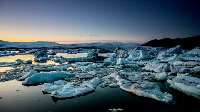 TIME LAPSE : Jokulsarlon glacier lagoon , Iceland video