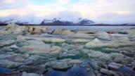 Jokulsarlon Ice Lagoon Timelapse, South Iceland, Europe video