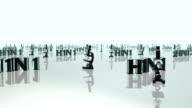 H1N1 3D Journey video